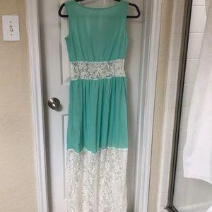 Marineblu Dresses - New Green Maxi Dress